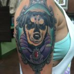 tattoo chosen art studio color traditional portrait dog arizona glendale