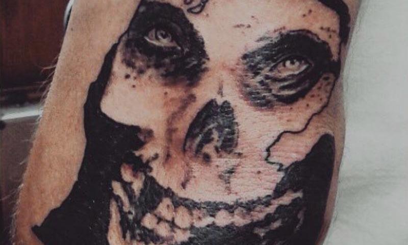 Black and Grey Skull Tattoo by Alex Ortagus - Chosen Art Tattoo