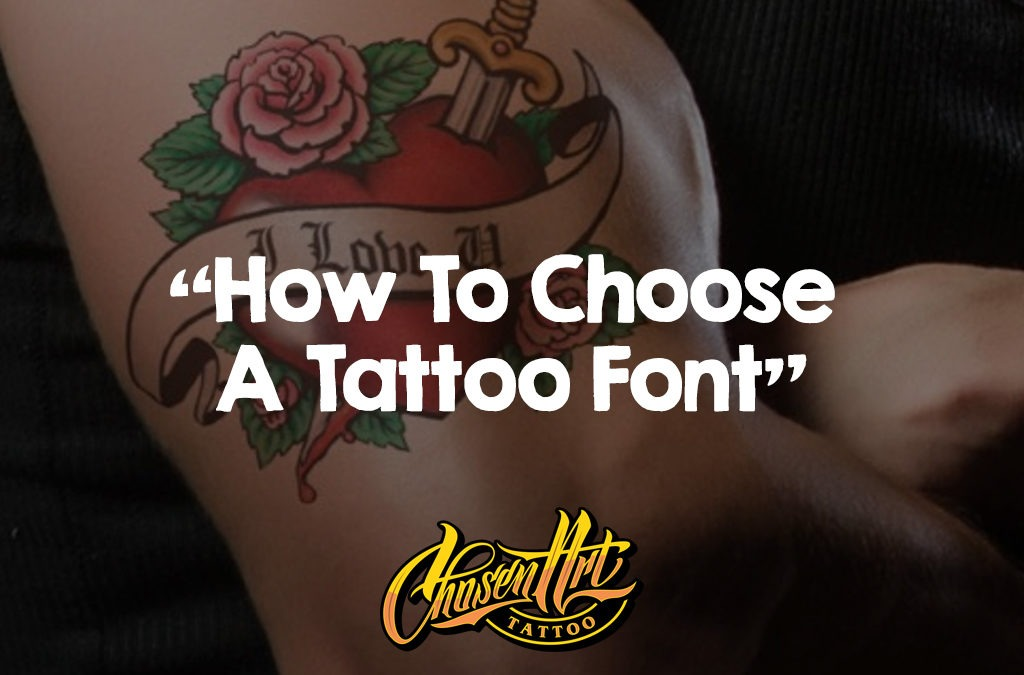 How to Choose a Tattoo Font