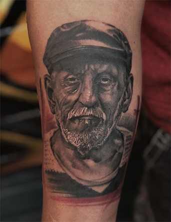 Portrait Tattoos by Eric Jones - Tattoo Artist - Chosen Art Tattoo