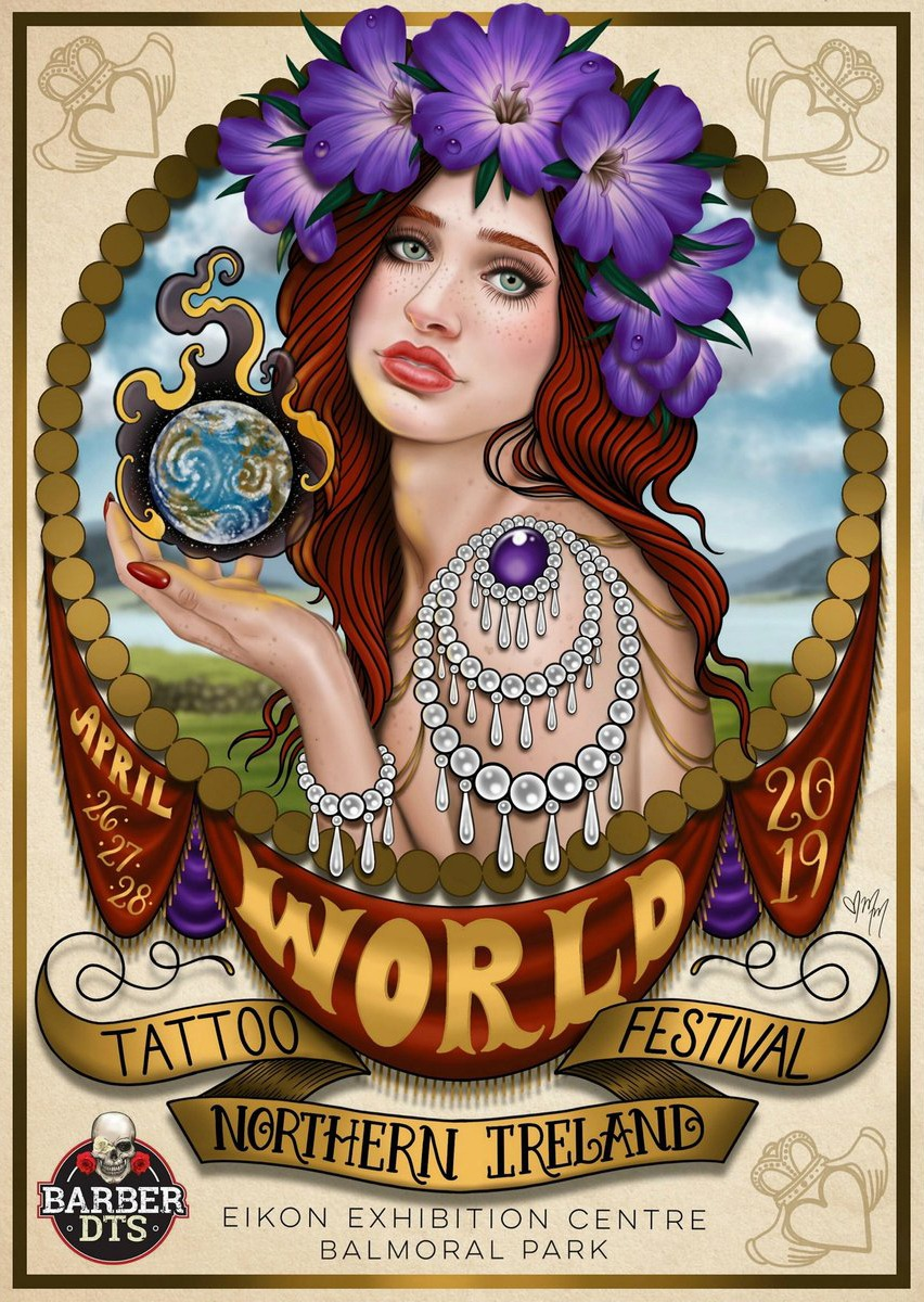 World Tattoo Festival in Northern Ireland April 26th 27th 28th 2019 Chosen Art Tattoo