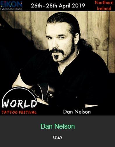 Dan Nelson - International World Tattoo Festival 2019 Guests - Chosen Art Tattoo