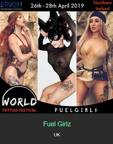 Fuel Girlz - Internation Perfomers Attending World Tattoo Festival 2019