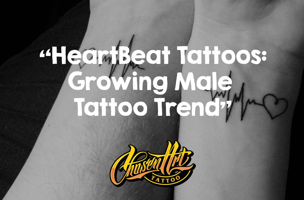 Heartbeat Tattoos: Growing Male Tattoo Trend