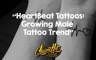 Heartbeat Tattoos: Growing Male Tattoo Trend