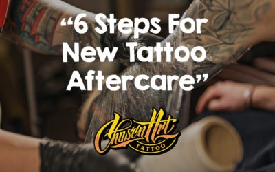 6 EASY Steps For New Tattoo Aftercare