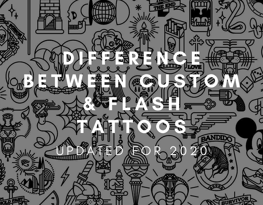 What S The Difference Between Custom And Flash Tattoo