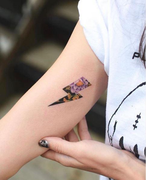 Hypercolor Realism Tattoos - 2020 Tattoo Trends - Chosen Art Tattoo - Image Credit Belongs to Bang Bang NYC