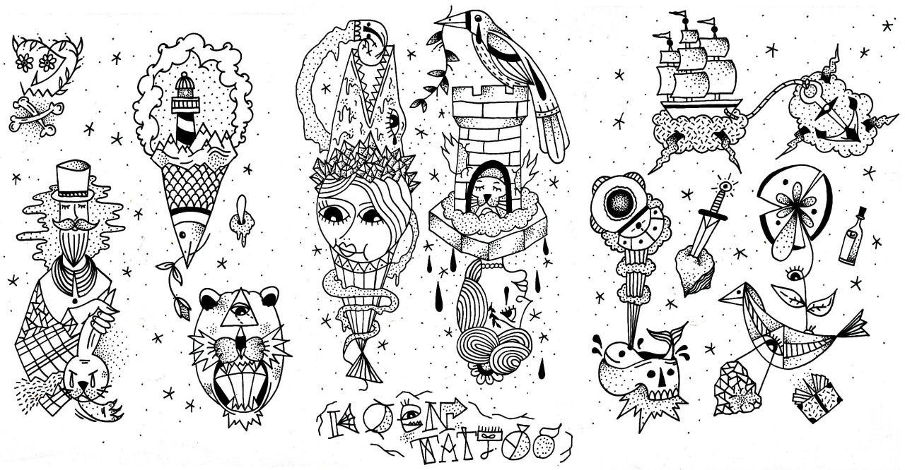 Ignorant Tattoo Style - 2020 Tattoo Trends - Chosen Art Tattoo - Image Source Pinterest