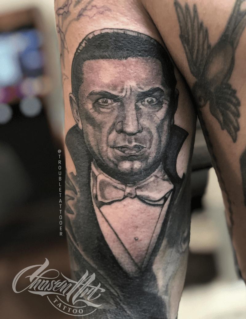 Portrait Tattoos by Eric Jones - Tattoo Artist - Chosen Art Tattoo