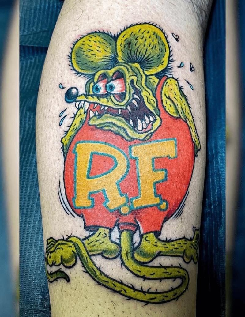 Rat Fink Tattoo - Alex Ortagus - Chosen Art Tattoo