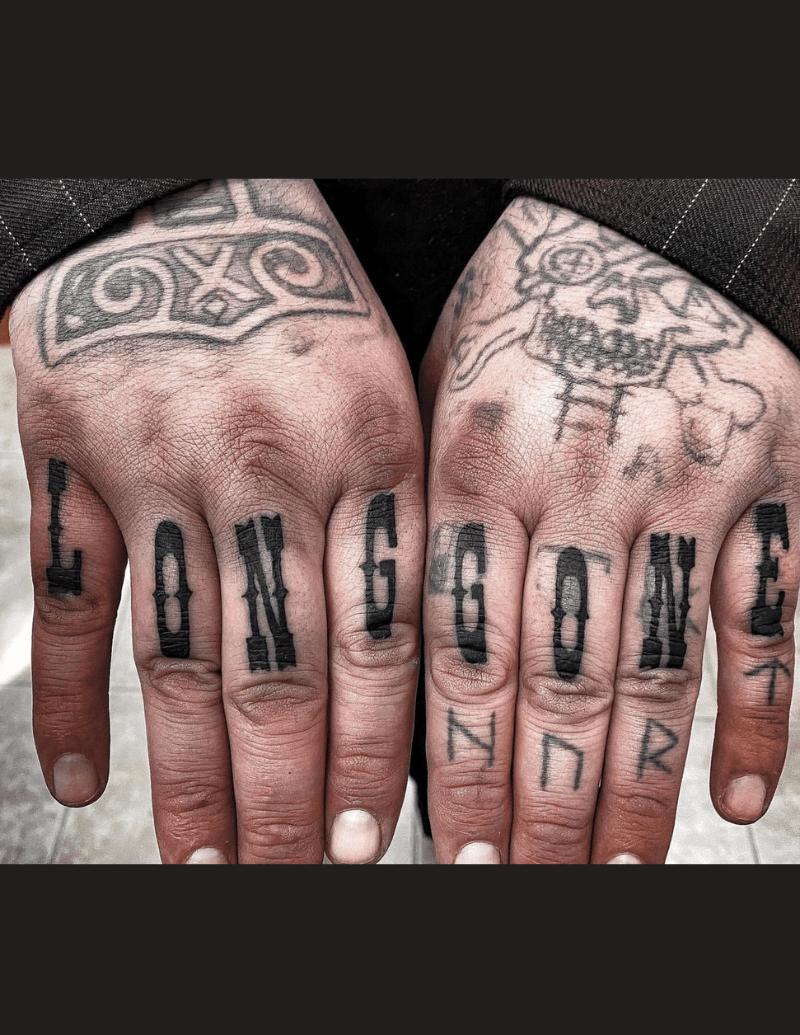 Tattoo Hand Lettering - Alex Ortagus - Chosen Art Tattoo